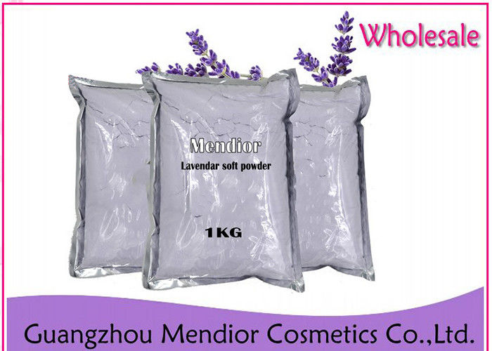 Lavender Protein Powder Face Mask For Dry Skin And Acne Natural Soft Purple Color